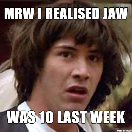 JAW 10 - time