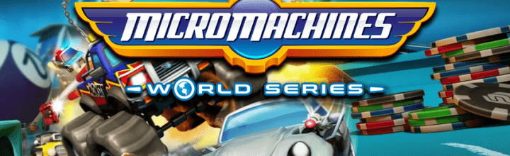 Micro Machines World Series coming Spring 2017