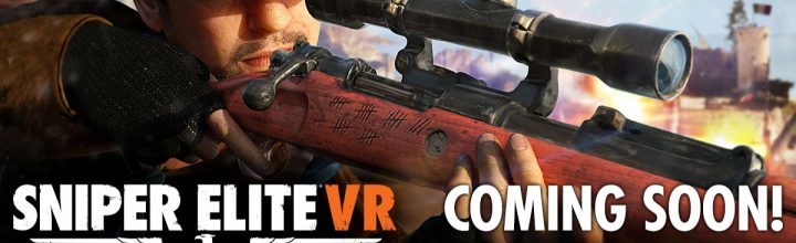 Sniper Elite VR – Announced!